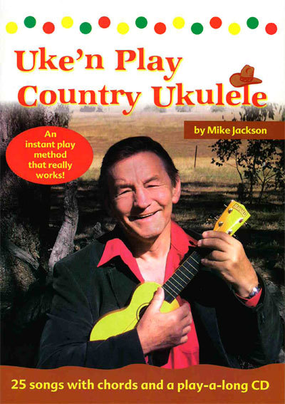Primary image for Uke'n Play Country Ukulele/Folk TUnes/Strum & SIng/Book w/CD