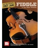 First Jams:Fiddle/Book w/CD Set  - $12.99