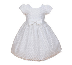Cinda Ivory Lace Flower Girl Party Dress  2 3 4 5 6 7 8 Years - $20.51