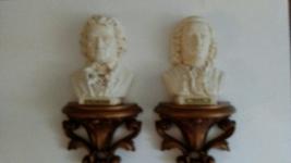 Bach and Beethoven Wall Busts 1968 - $15.00