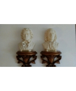 Bach and Beethoven Wall Busts 1968 - $15.00
