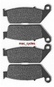 Honda Disc Brake Pads VFR950F Carat 1992 Front & Rear (2sets)