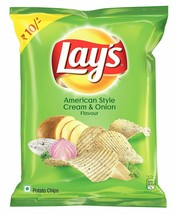 Lays Lay's American Style Cream and Onion 90 grams Potato Chips Wafers E... - $5.99