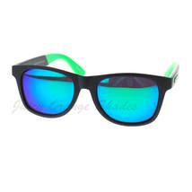 KUSH Square Unisex Sunglasses 2-tone Matte Frame Multicolor Lens - $7.95