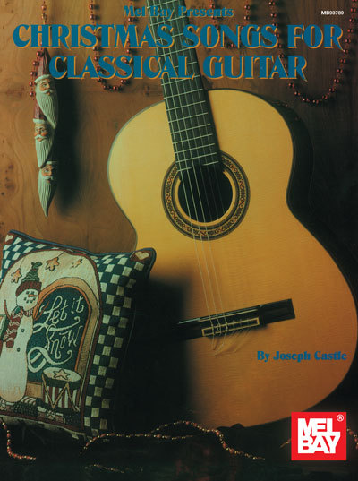 Primary image for Christmas Songs For Classical Guitar/Easy Arrangements