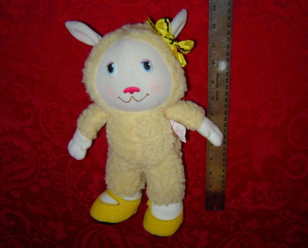 Get Along Gang Woolma Lamb 1984 Tomy American Greetings Corp. Plush Doll sheep
