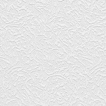 Volcanic Texture Paintable Wallpaper White Norwall Wallcovering 48907 - $34.99