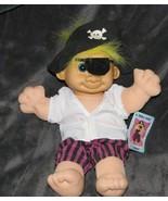 """Russ Sinbad Troll Kidz Stuffed Soft Troll 12"""" Doll Pirate Costume-Halloween - $14.84"""