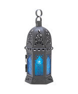 Ocean Blue Candle Lantern - $22.56 CAD
