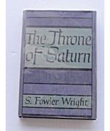 Arkham House The Throne Of Saturn HC/DJ First Edition - $39.99