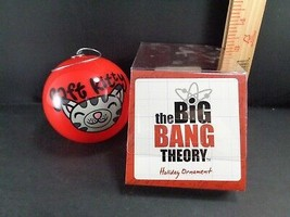 Big Bang Theory Christmas Tree Plastic Ball Ornament Sheldon Cooper SOFT... - $8.90
