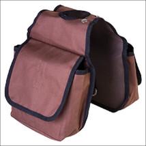 Hilason Western Tack Horse Horn Bag Brown Pockets U-3747 - $16.82