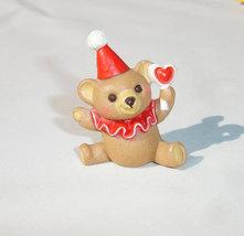 Hallmark Merry Miniatures 1987 Clown Teddy Bear - $6.25