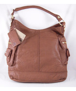 Linea Pelle Dylan Shoulder Bag BROWN - $319.87
