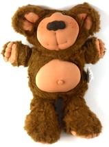 "Furskins Xavier Roberts 14"" Plush Bear Coleco Stuffed Animal Vintage - $14.24"