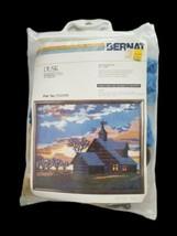 Vintage Bernat Dusk Quickstitch 1979 Kit TO2009 17x20 with Yarn  - $44.55