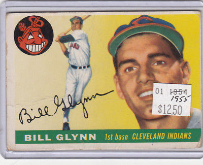1955 Topps 39 Bill Glynn Not Graded