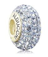 Alducchi Light Sapphire Blue Crystal .925 Silver European Charm Bead - $19.95
