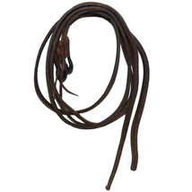 Heavy Harness Leather Doubled and Stitched Full Length Split Reins 7.5 +... - $99.99