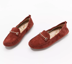 Sam Edelman Women's Suede Moccasins - Falto Rosewood  Size 6 M - $59.39