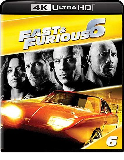 Fast & Furious 6 [4K Ultra HD + Blu-ray]