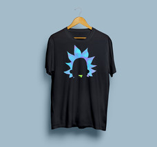 HOT SALE Rick Sanchez silhouette Gildan T-Shirt Size S To 2XL Free Shipping - $21.80+