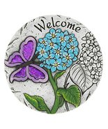 Summerfield Terrace 10018542 Welcome Butterfly Garden Stepping Stone Mul... - $19.04