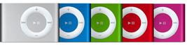 Apple iPod Shuffle A1204 / 1GB ( 2nd Generation) Silver  - $24.99