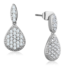 Women's Brass CZ Clear 2.50(g) Western Dangle & Drop Earrings - $20.30