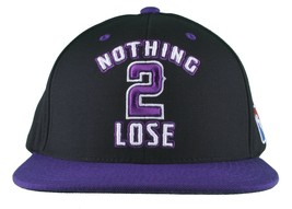 DGK Dirty Ghetto Kids Black Purple Nothing To 2 Lose Snapback Baseball Hat NWT