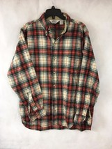 WOOLRICH Men's Multi-Color Wool Blend Plaid&Checks Casual Shirt Size 1X - $32.71