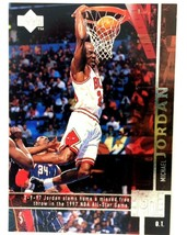 Michael Jordan 1997-98 Upper Deck Game Dated #316 NBA HOF Chicago Bulls - $3.91