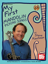 My First Mandolin Picking Songs/Book/CD Set - $13.99