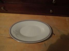 """Noritake Oval Serving 8"""" porcelain Platter,  Pattern """"Malverne"""" - $14.80"""