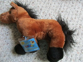 """Webkinz HM101 Brown Arabian Horse 8"""" Plush Toy  New With Unopened Sealed... - $7.18"""