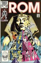 (CB-15} 1983 Marvel Comic Book: ROM #39 - $5.00