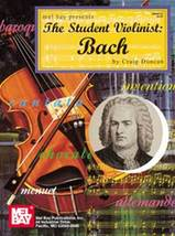 The Student Violinist:Bach - $8.95
