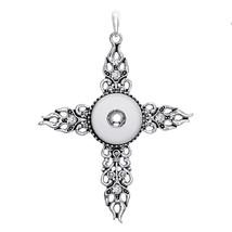 Cross 218 Interchangeable Charm Jewelry For Women Rhinestone Ginger Snap... - $8.82