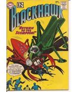 DC Blackhawk #178  Sci-Fi Return Of The Scorpion Secret Of Scared Fountain - $9.95