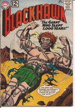 DC Blackhawk #179 Sci-Fi The Giant Who Slept 1000 Years Invisible Dr. Dumar - $5.95