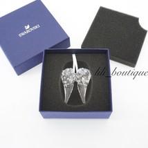 NIB Swarovski 5403312 Angel Wing Ornament Christmas Holiday Crystal Clea... - £144.98 GBP