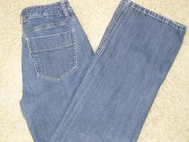 Talbots Petites 6  8 P Cotton Stretch Blue Denim Jeans 30 X 28 Gu - $11.31
