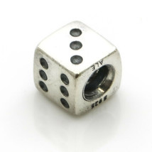 Pandora Sterling Silver Retired Dice Charm - $19.80