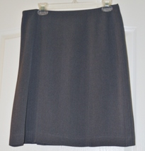 Ladies Charcoal skirt size 12 - $8.95