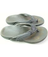 Tommy Bahama Men's Flip-Flops Gray Size 10 D Casual Comfort Relaxology S... - $20.57