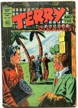 TERRY AND THE PIRATES-FOUR COLOR COMICS #44-MILT CANIFF VG - $88.27