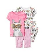 "Carter's ""Stay Cool"" Puppy Dog 4-Piece Pajamas Sleepwear Set, 2T - $22.76"