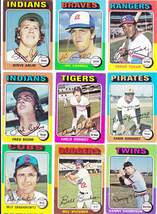 1975 Topps Baseball Cards - Lot of 100 Different - $19.99