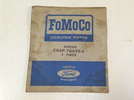 Vintage Oem Ford Fo Mo Co C0AP-7B070-A Spring C0AP7B070A Made In Usa - $16.95