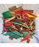 Vintage Lincoln Log Lot - Over 500 Pieces Various Styles Included - Abou... - $44.99